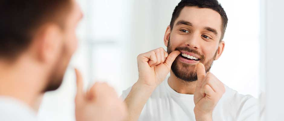 Do you brush or floss first?